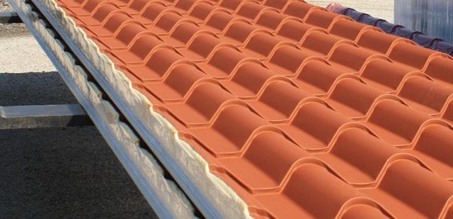 Pannelli per copertura coppo bari puglia for Pannelli finto coppo prezzi